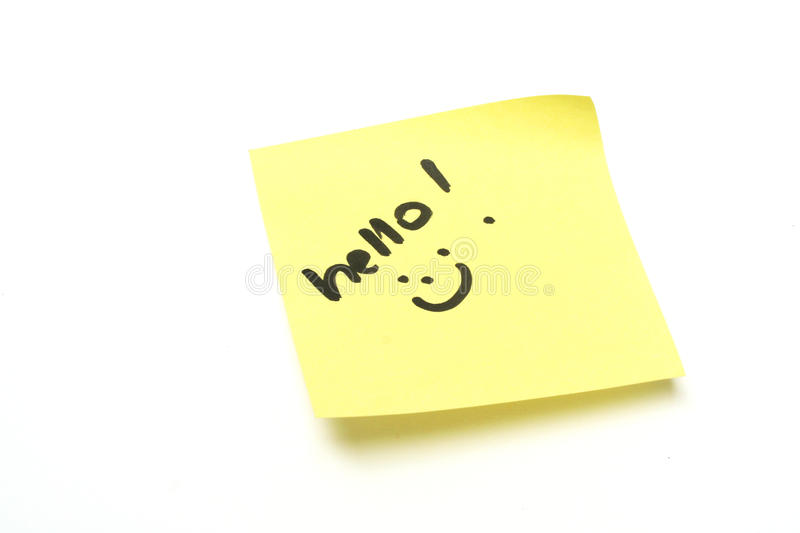 Download Hello stock image. Image of written, message, greeting - 10755637