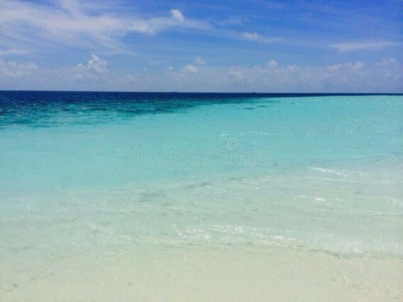 hello de Maldiven royalty-vrije stock foto's