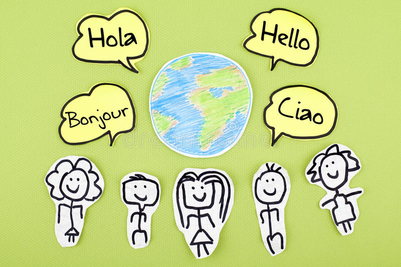 Hello In Different International Global Foreign Languages Bonjour - Languages on earth