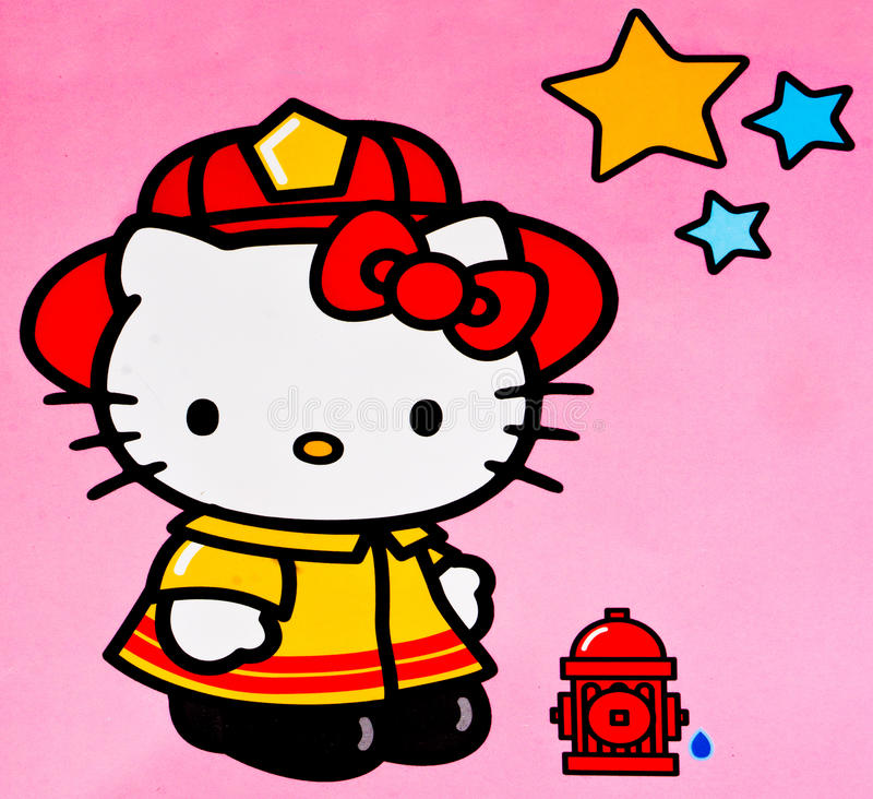 Hello Kitty imagen de archivo libre de regalías