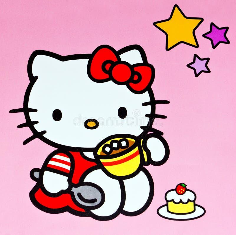 Hello Kitty fotografía de archivo libre de regalías