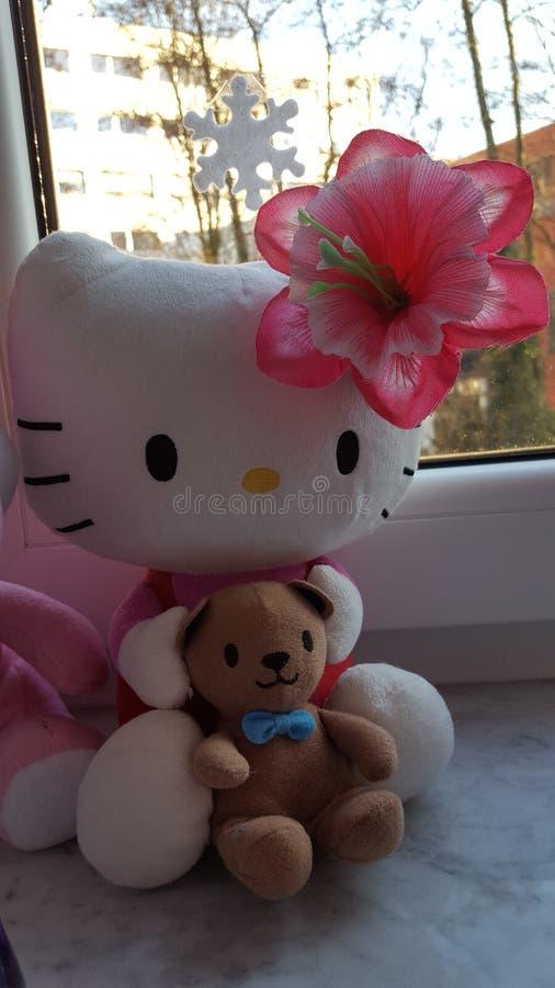 Hello Kitty images libres de droits