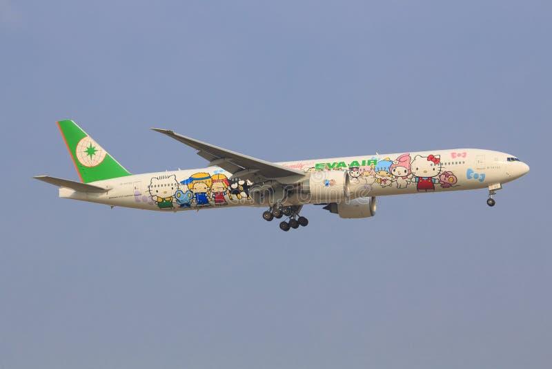 Hello Kitty EVA samoloty zdjęcie stock