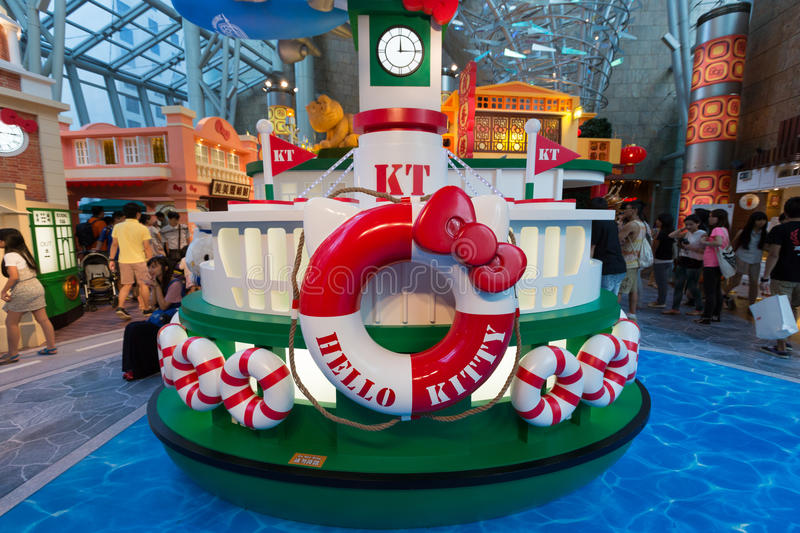 Download Hello Kitty Exhibition In Hong Kong Editorial Stock Image - Image: 33193884