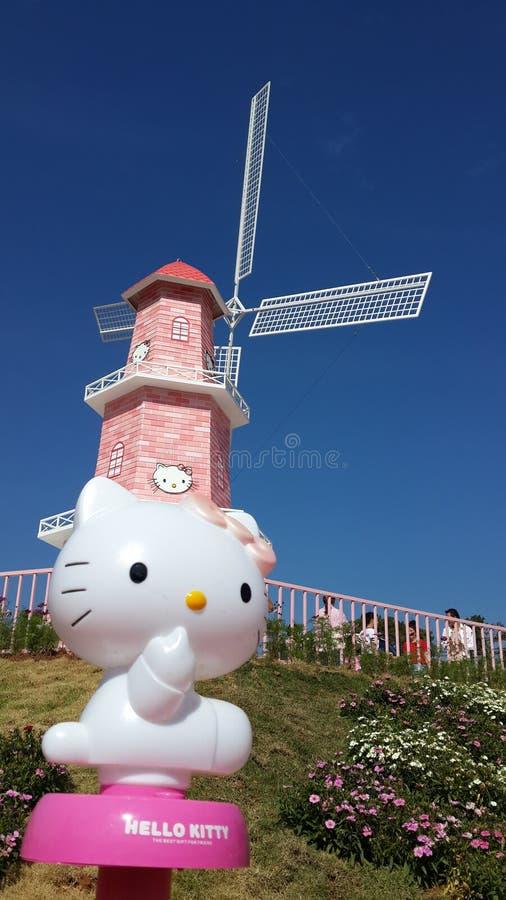 Hello Kitty royalty free stock photo