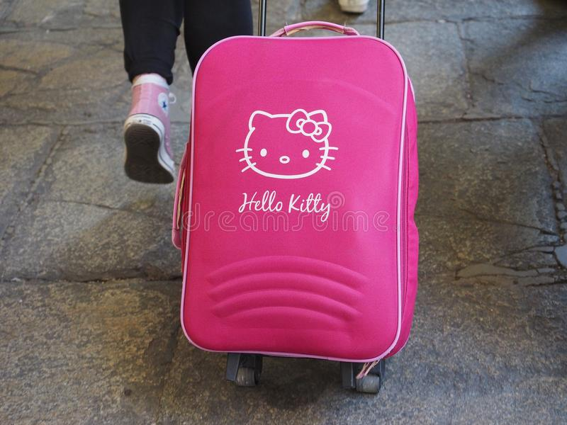 Hello Kitty torba zdjęcia stock