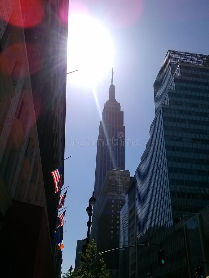 Hello New York royalty-vrije stock foto