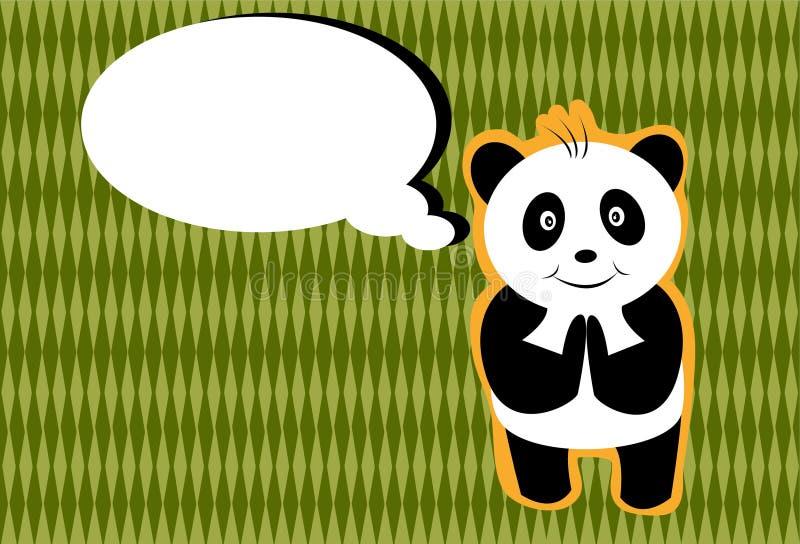 Download Hello Panda Royalty Free Stock Photos - Image: 21261748