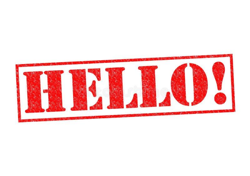 HELLO! vector illustration