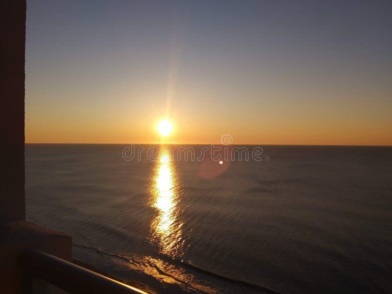 Hello sol royaltyfri fotografi