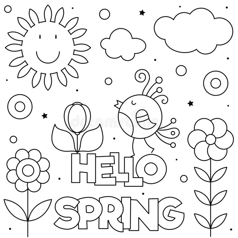 Spring Coloring Stock Illustrations 26 947 Spring Coloring Stock Illustrations Vectors Clipart Dreamstime