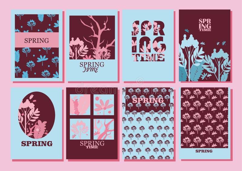 Hello spring royalty free illustration