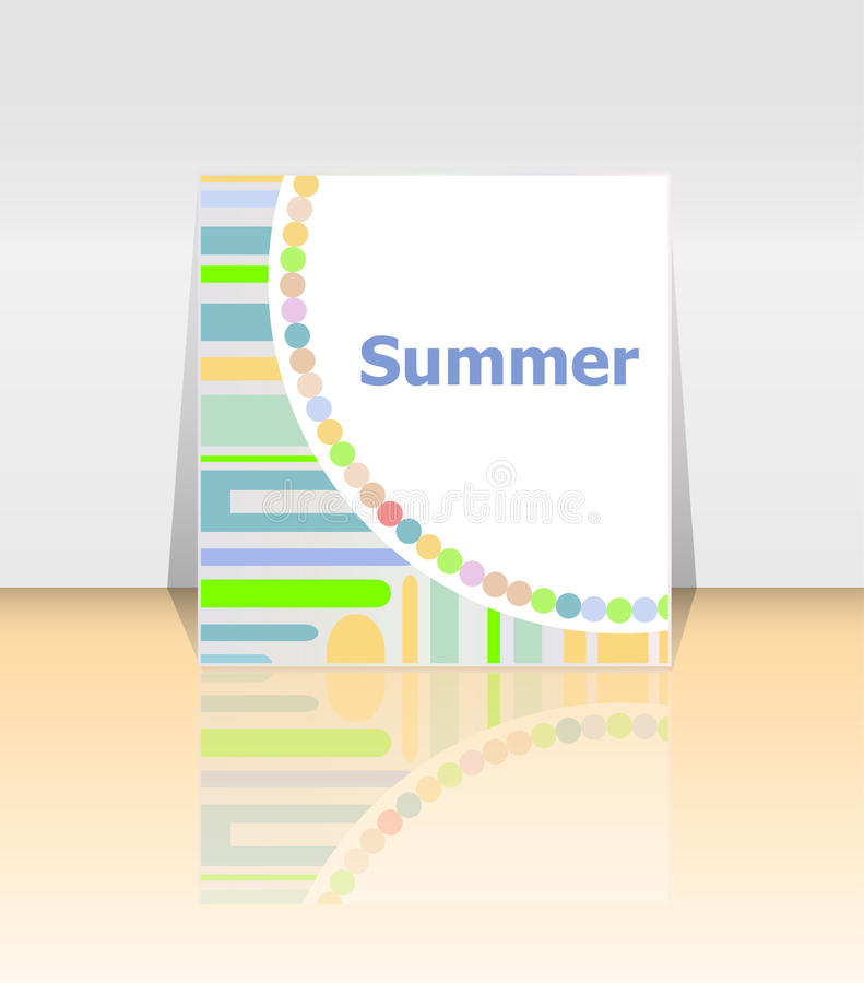 Lovely Download Hello Summer Poster. Summer Background. Effects Poster, Frame.  Happy Holidays Card