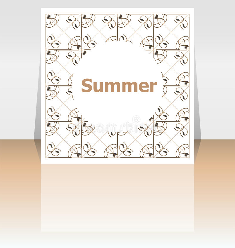 Download Hello Summer Poster. Summer Background. Effects Poster, Frame.  Happy Holidays Card
