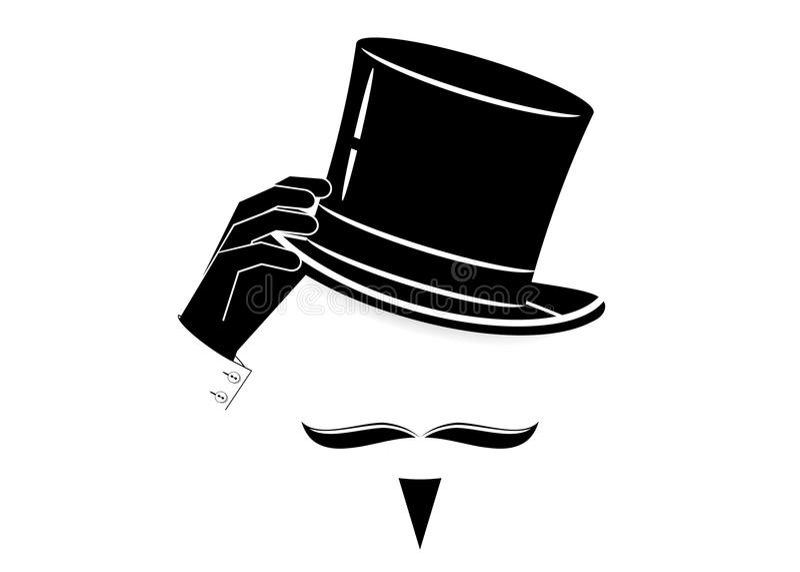 Hello symbol vektor illustrationer