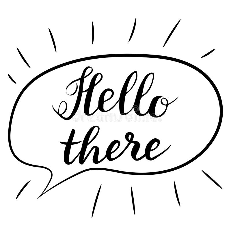 Hello There Stock Illustrations – 289 Hello There Stock Illustrations,  Vectors & Clipart - Dreamstime