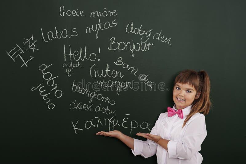 Hello in vele talen stock fotografie