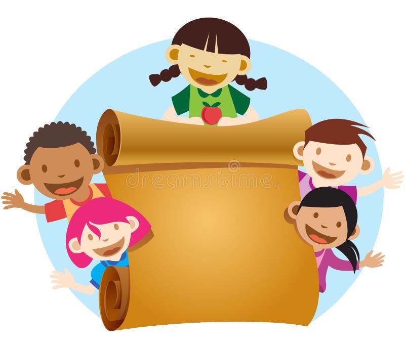 Download Hello world stock illustration. Image of children, diversity - 16487655