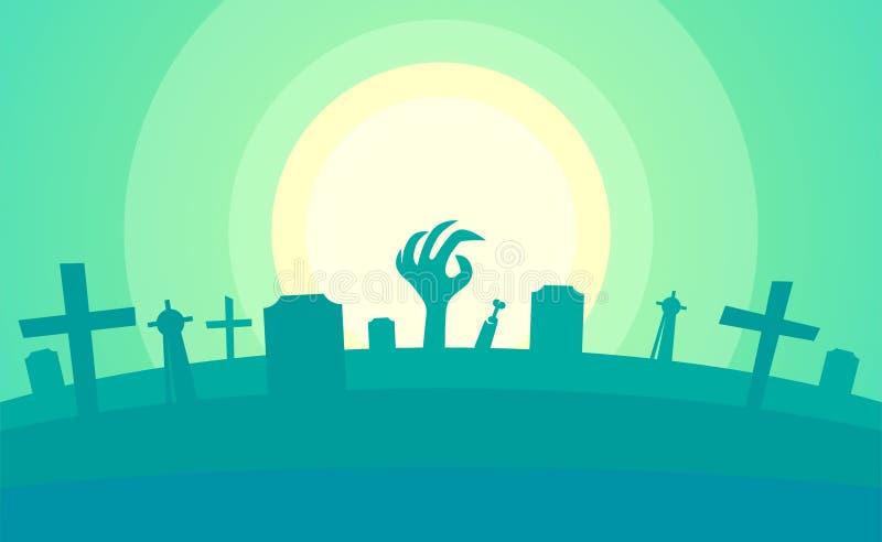 Helloween heureux - contexte rampant pour la partie de Helloween illustration de vecteur