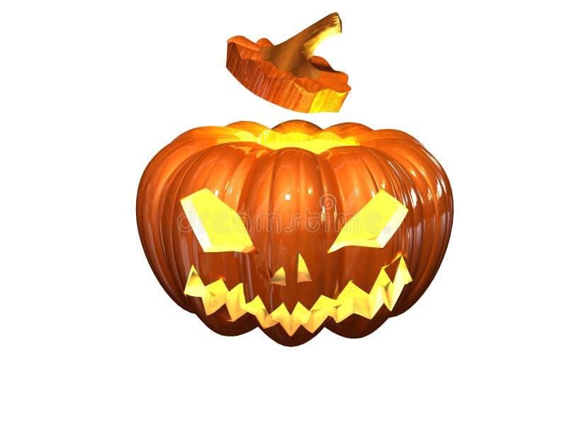 Download Helloween pumpkin stock illustration. Image of illuminated - 6850007