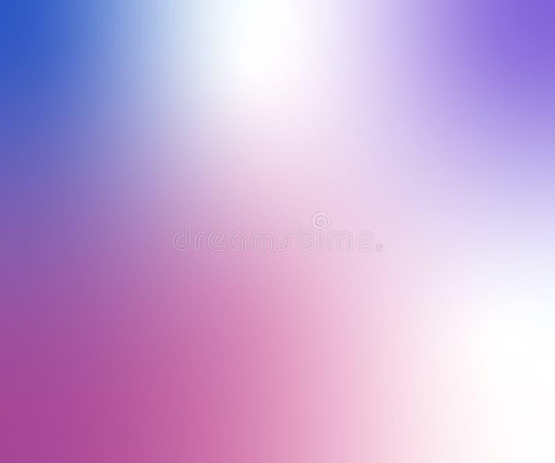 Hellpurpurner Vektor unscharfer Hintergrund mit Glühen Kunstdesignmuster Abstrakte Illustration des Funkelns mit elegantem hellem stock abbildung