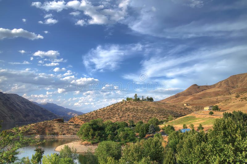 Hells Canyon landscape royalty free stock photos