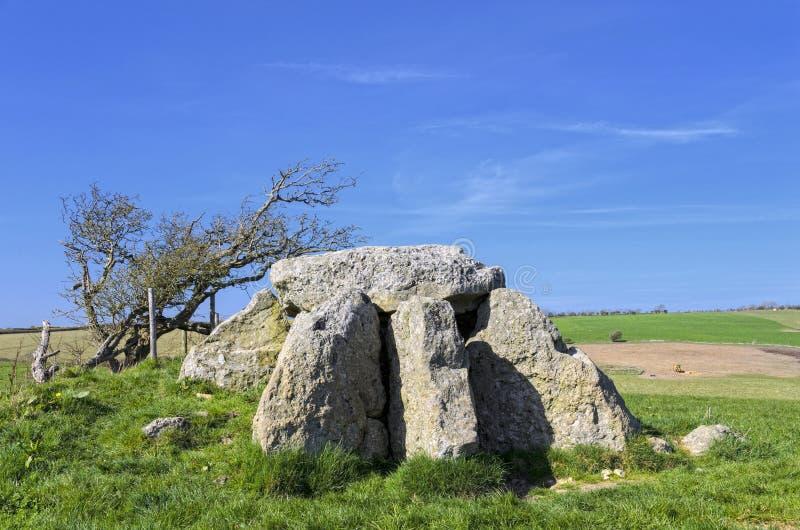 Hellstone - dolmen fotografia royalty free