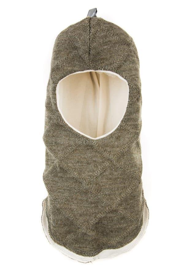 Helm Één Gat Ski Mask van de kinderenhoed stock fotografie