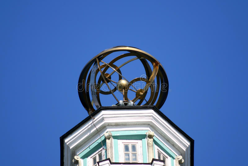 Helm of Cunstcamera tower