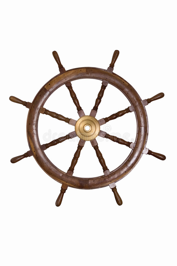 Download Helm Wheel stock photo. Image of sailing, maritime, antique - 3695148