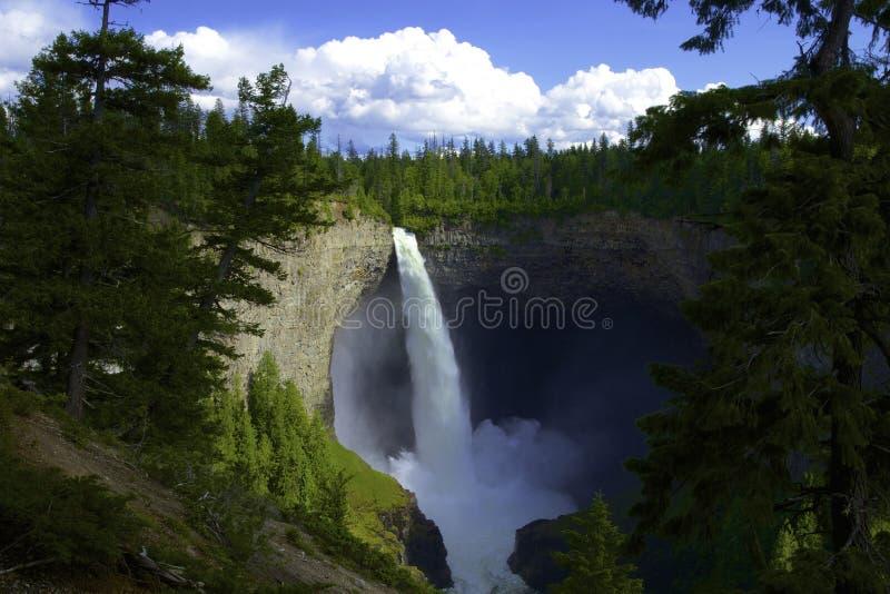 Helmcken Falls royaltyfri bild