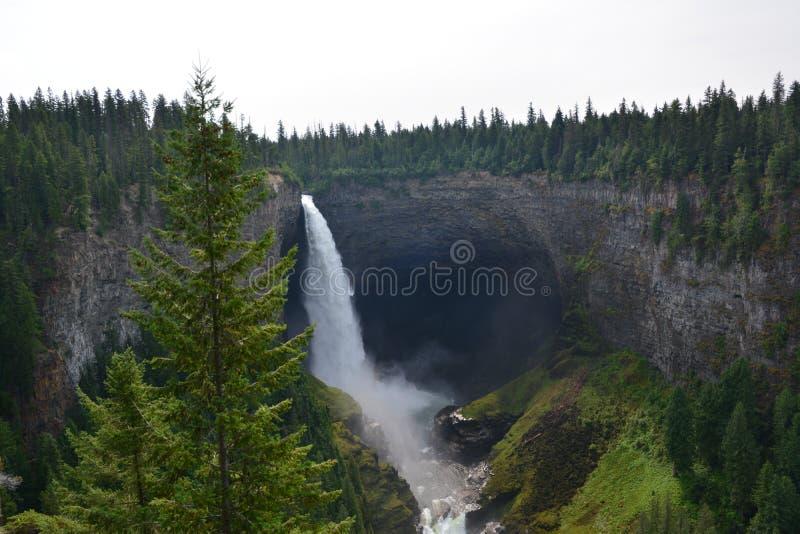 Helmcken Falls in Canada stock photo