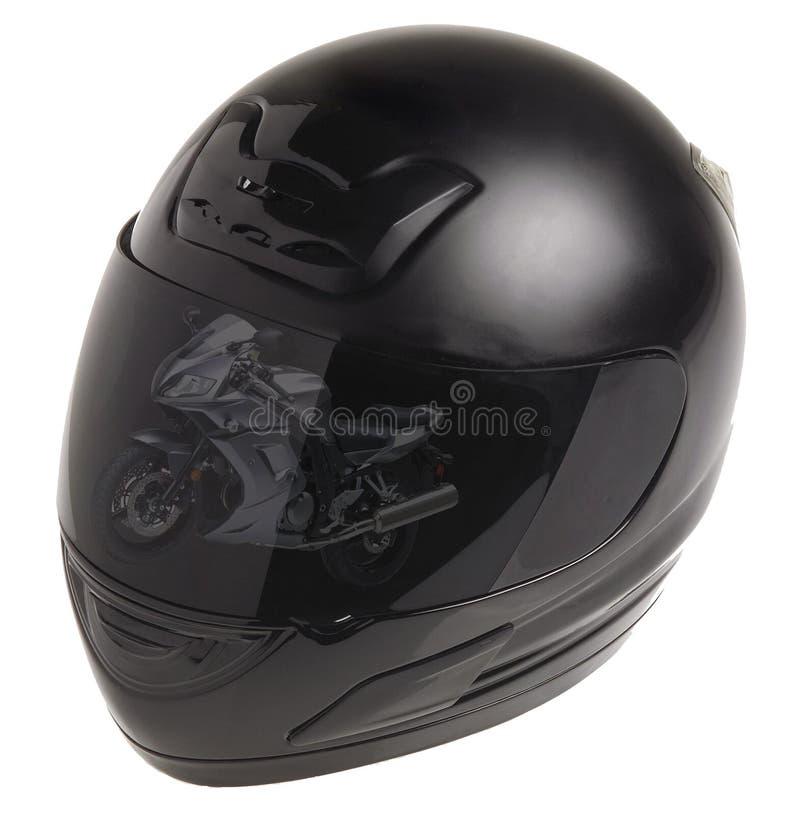 Helmen voor motorsporten royalty-vrije stock fotografie