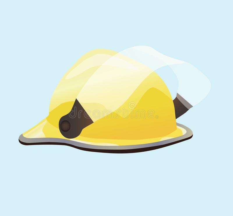 Helmet for Fireman and Builder royalty free stock photos