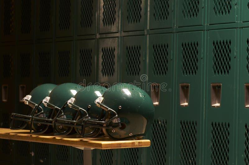 The helmets stock photography