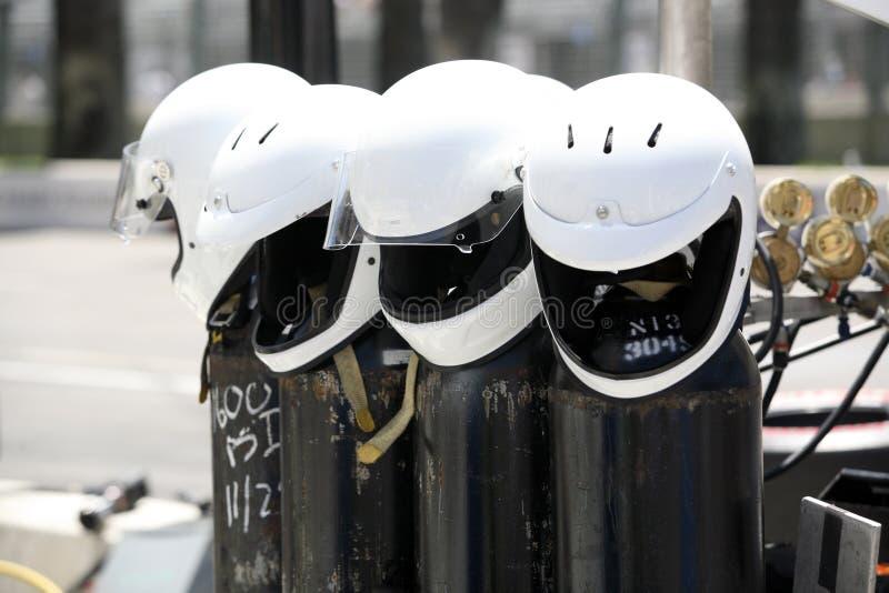 Helmets royalty free stock photography
