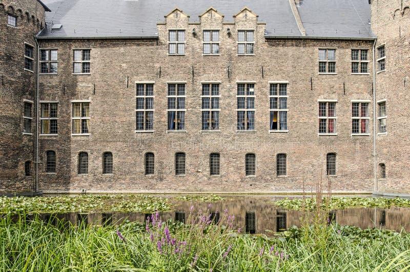 Helmond castle South facade fotografering för bildbyråer
