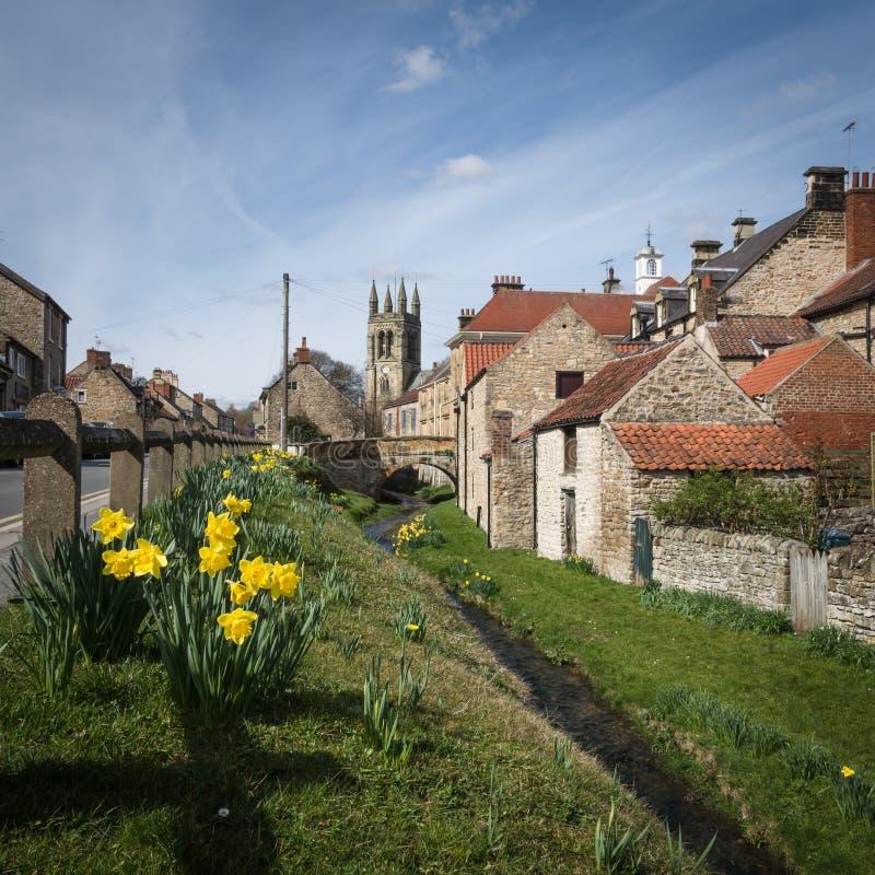 Helmsley - городок в Англии стоковое фото rf