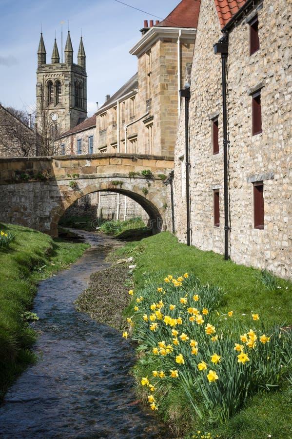 Helmsley - miasteczko w Anglia obraz royalty free