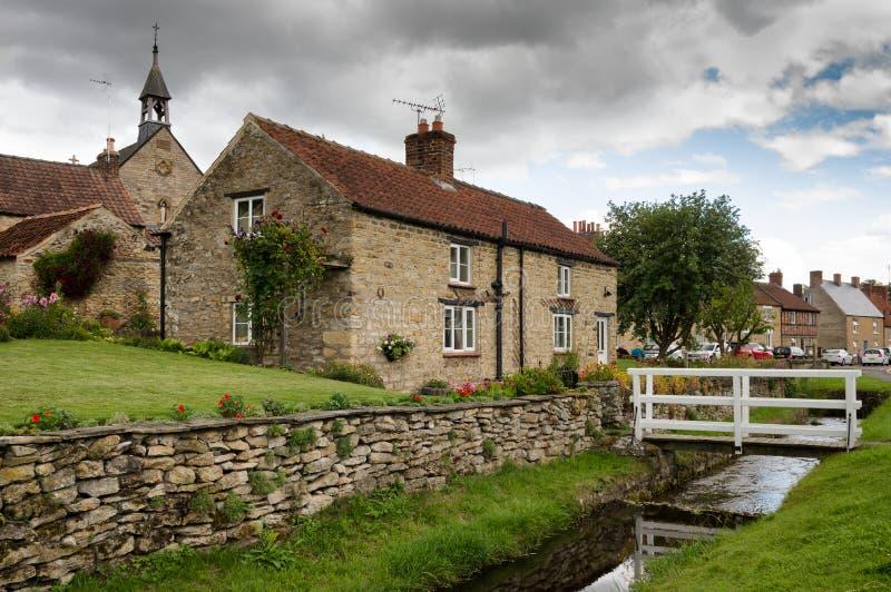 Helmsley - miasteczko w Anglia, North Yorkshire zdjęcie stock
