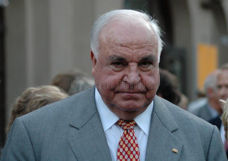 Helmut Kohl stockfoto