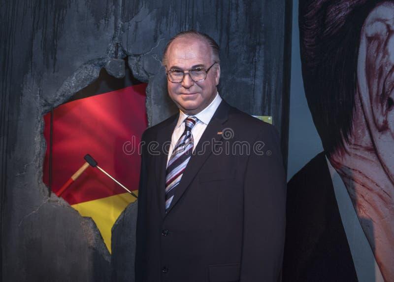 Helmut Kuhl wosku postać zdjęcie royalty free