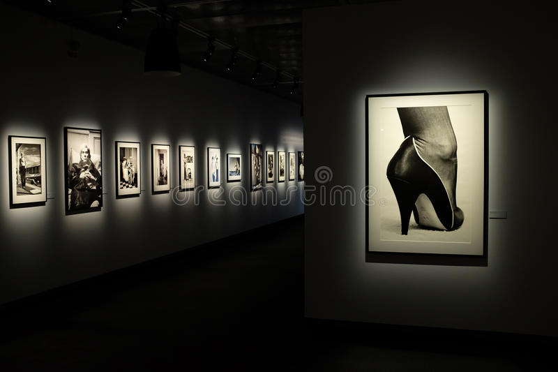 Download Helmut Newton Exhibition In Stockholm Editorial Photography - Image: 31336012
