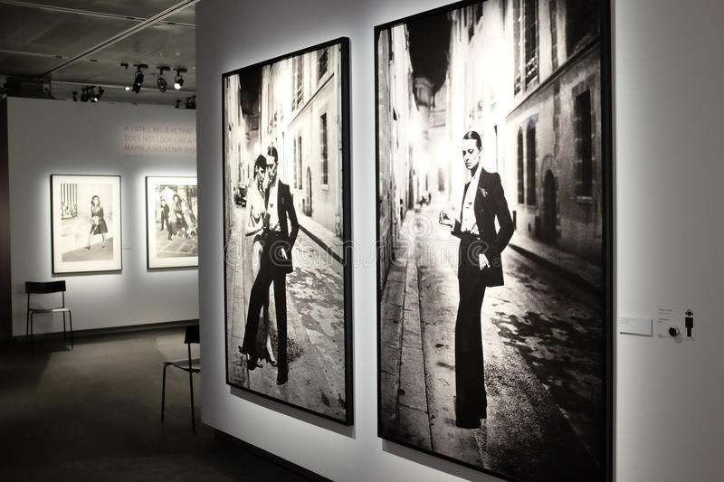 Helmut Newton Exhibition In Stockholm Editorial Photo