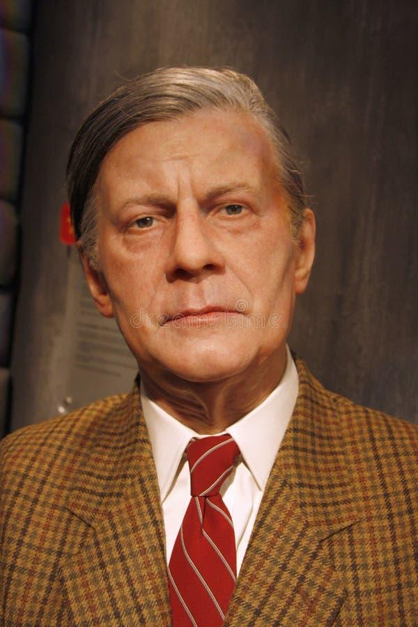 Helmut Schmidt obrazy stock