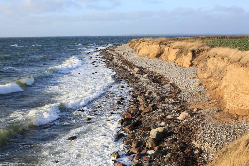 Helnaes on Funen Island, Denmark royalty free stock photo
