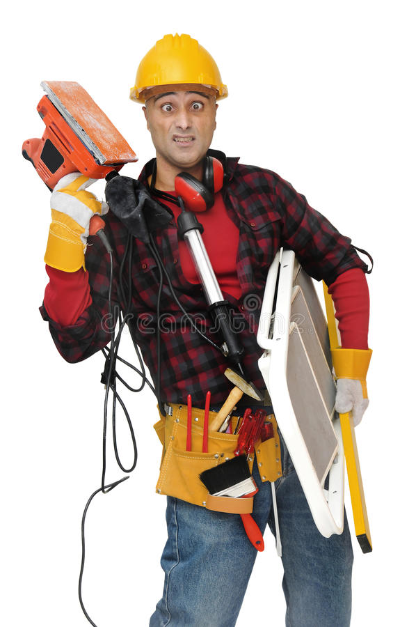 Download Help!!! stock image. Image of plumber, labor, white, builder - 13277963