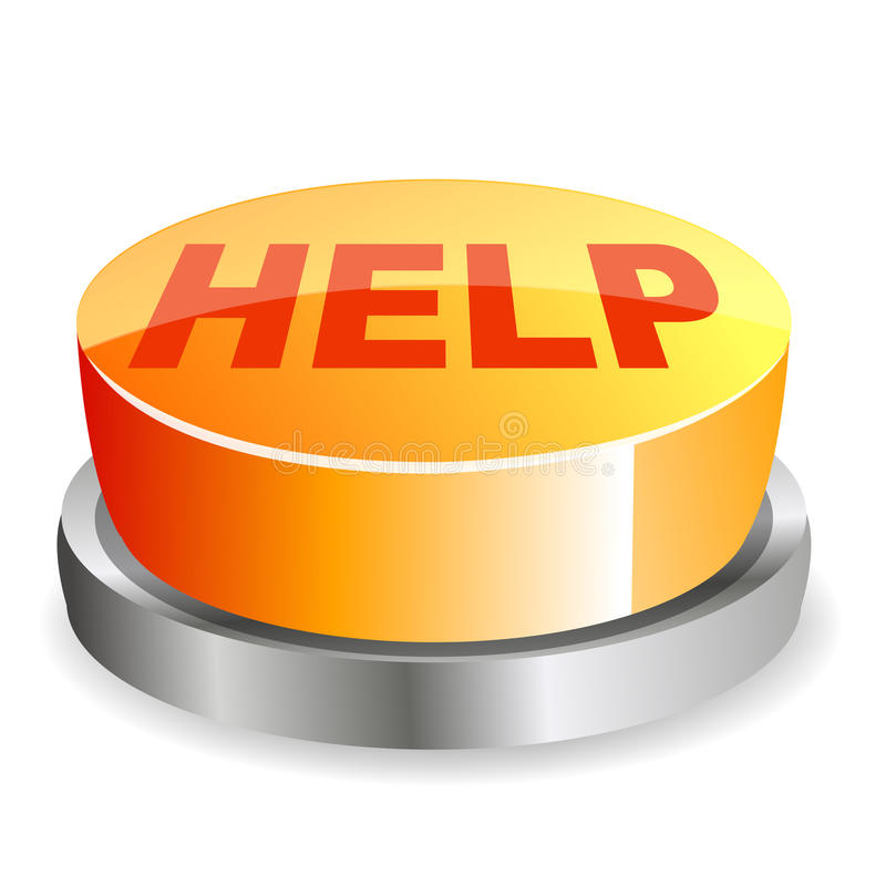Free Help Button Royalty Free Stock Images - 17554899