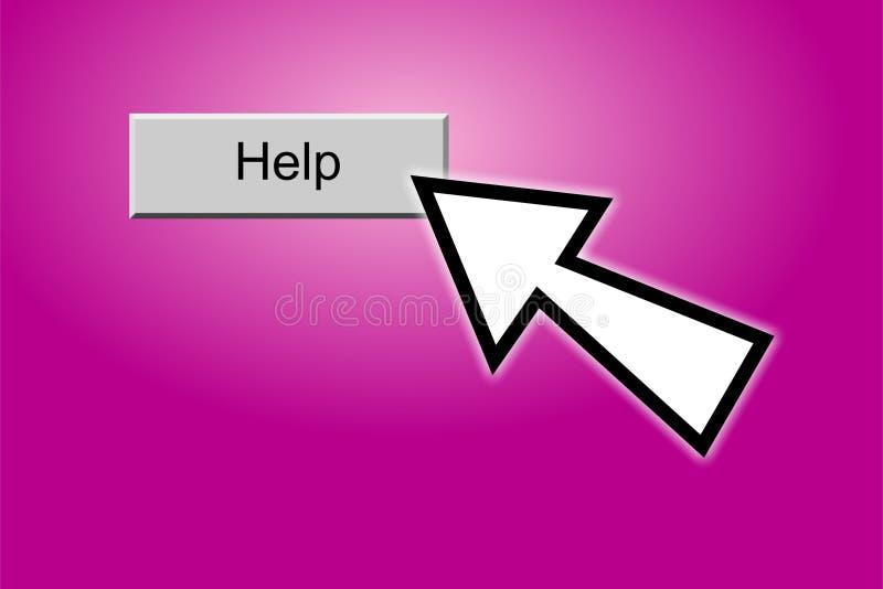 Help Button stock illustration