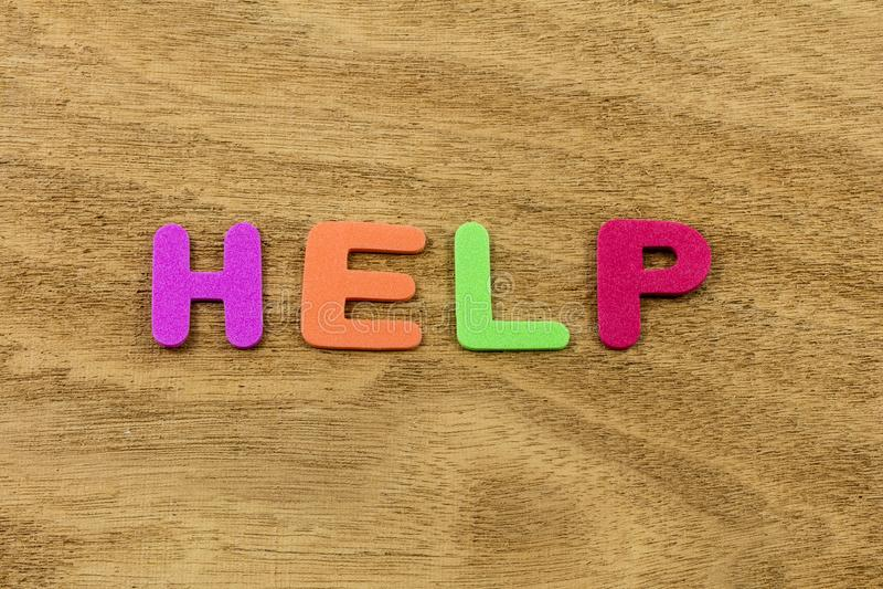 Help children people helping teamwork development foam toy stock photos